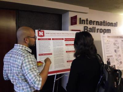Byron Chaves Elizondo explains his poster