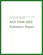 cover page of the impact report